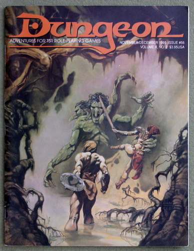 Image for Dungeon Magazine, Issue 56