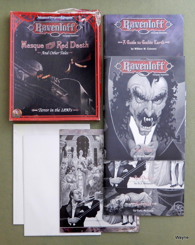 Image for Masque of the Red Death and Other Tales (Advanced Dungeons & Dragons: Ravenloft) - BOX DAMAGED