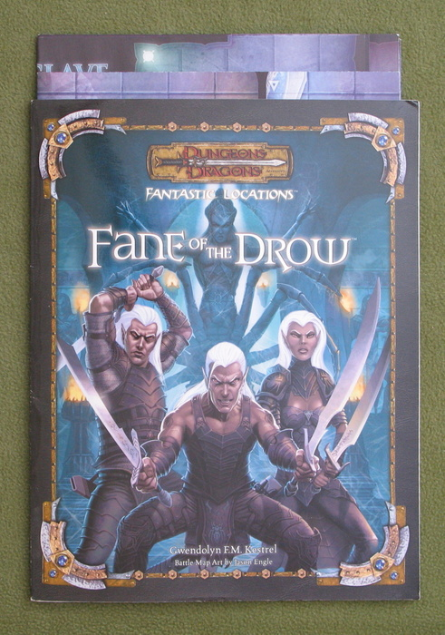 Image for Fantastic Locations: Fane of the Drow: Dungeons & Dragons D20 Accessory