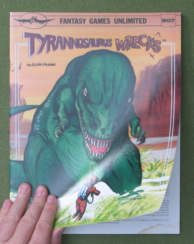 Image for Tyrannosaurus Wrecks: Science Fiction Game - WATER STAIN