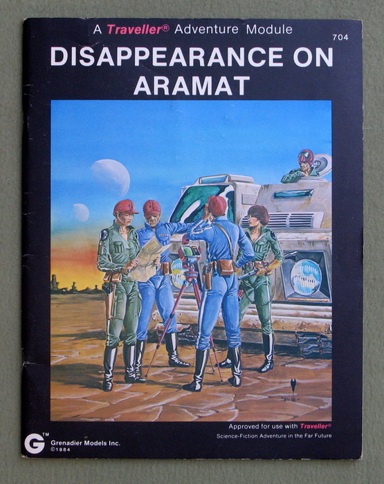 Image for Disappearance on Aramat: A Traveller Adventure Module