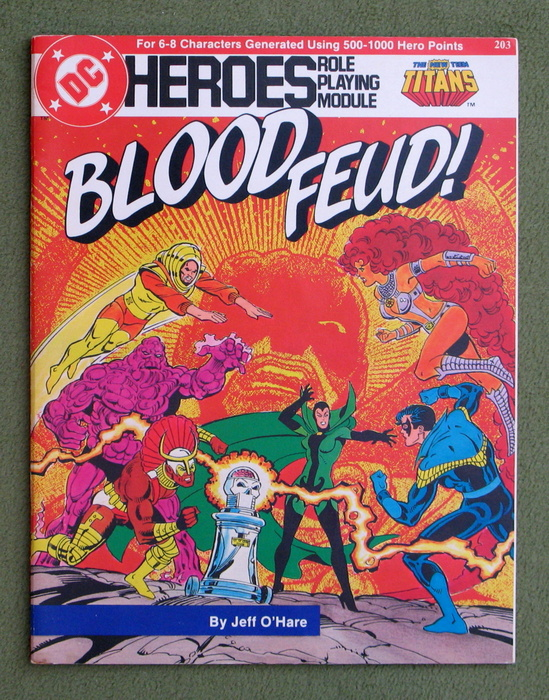 Image for Blood Feud! (DC Heroes role playing game)