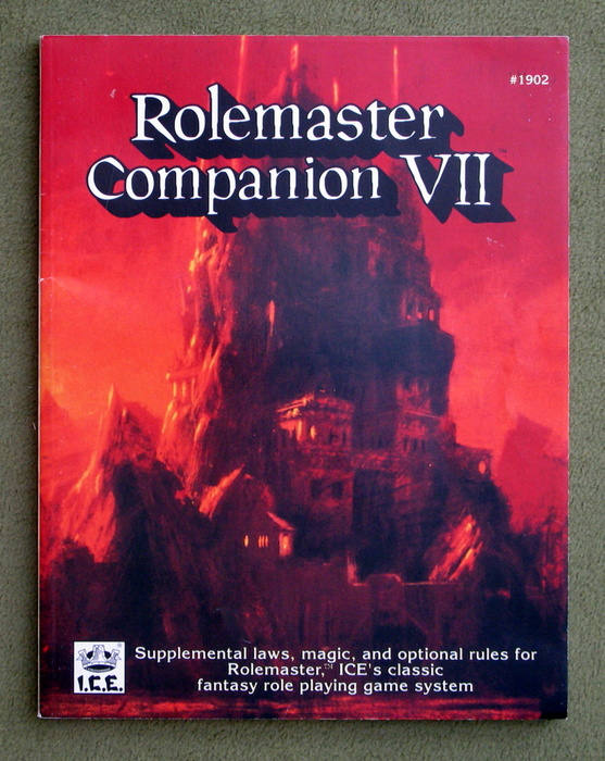 Image for Rolemaster Companion VII