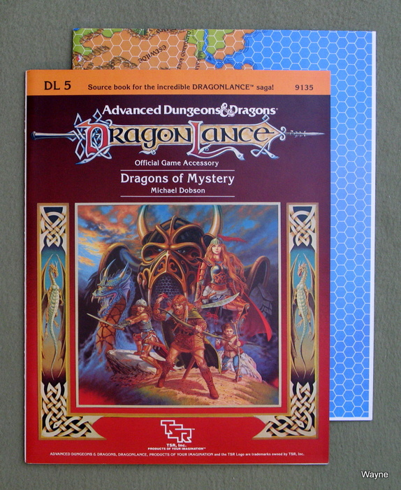 Image for Dragons of Mystery (Advanced Dungeons & Dragons: Dragonlance module DL5)