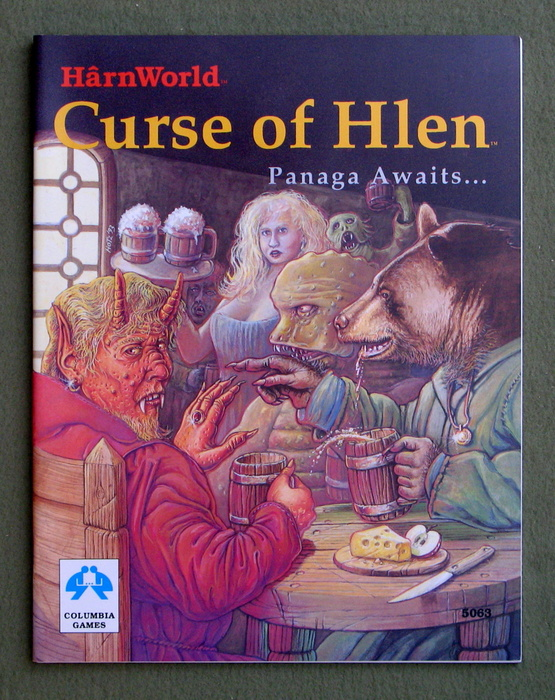 Image for Curse of Hlen (Harn/Harnworld)