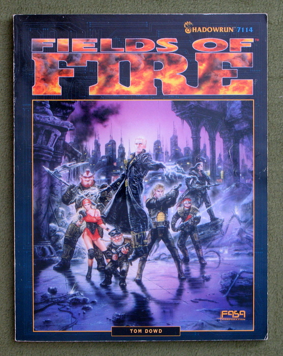 Image for Fields of Fire (Shadowrun)