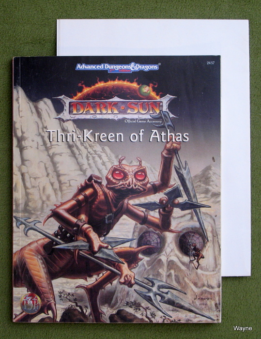 Image for Thri-Kreen of Athas (Advanced Dungeons & Dragons, 2nd Edition : Dark Sun)