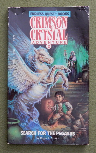Image for Search for the Pegasus (Crimson Crystal 2) - READING COPY