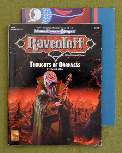 Image for Thoughts of Darkness (Advanced Dungeons & Dragons: Ravenloft Module RQ2)