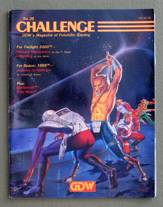 Image for Challenge Magazine, Issue 38