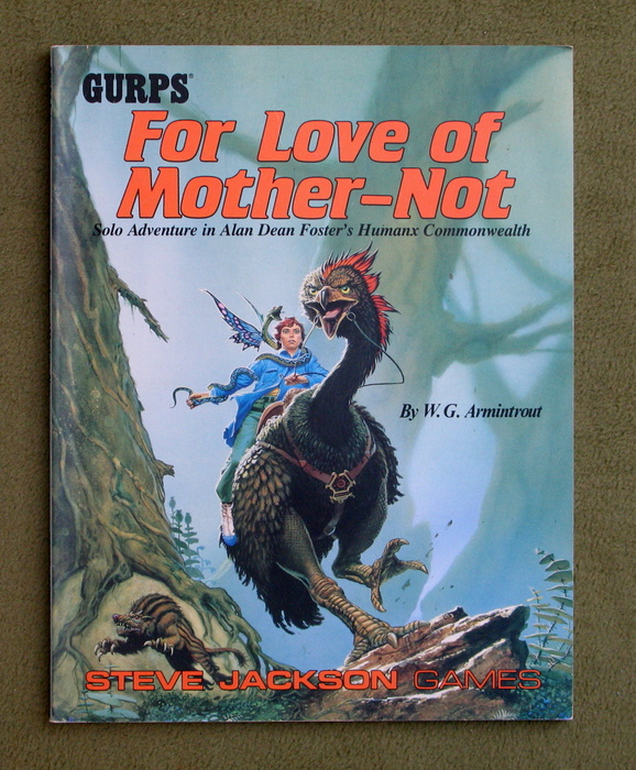 Image for GURPS For Love of Mother-Not: Solo Adventure in Alan Dean Foster's Humanx Commonwealth