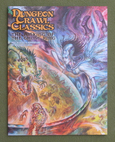 Image for The Making of the Ghost Ring (Dungeon Crawl Classics #85) - Color Cover