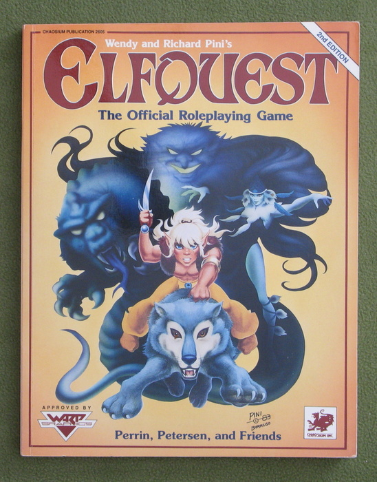 Image for Elfquest: The Official Role Playing Game (2nd Edition)