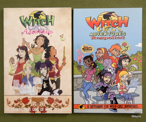 Image for Witch Girls Adventures Rulebook + Respelled [2 book set]