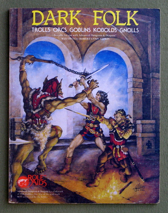 Image for Dark Folk (Role Aids / Advanced Dungeons & Dragons)