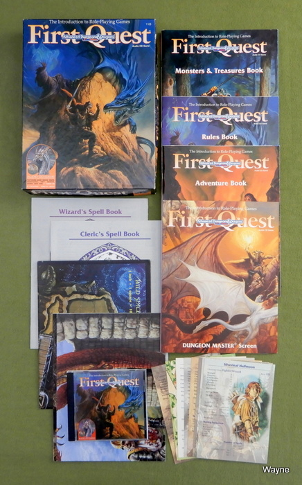 Image for First Quest: Introduction to AD&D, 2nd Editon - NO FIGURES