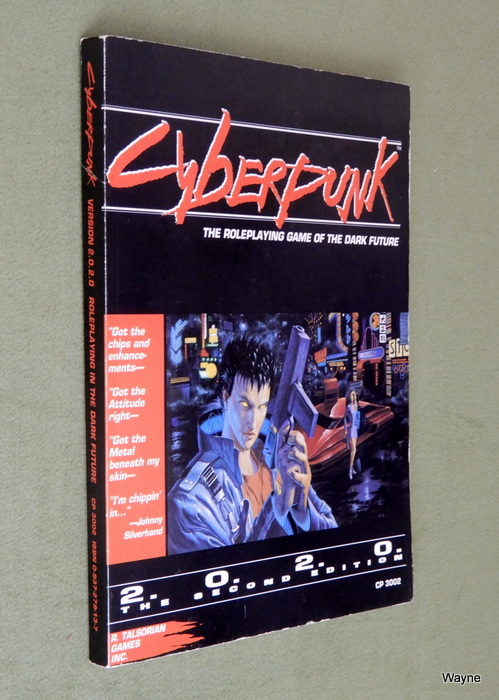 Image for Cyberpunk 2020: The Roleplaying Game of the Dark Future