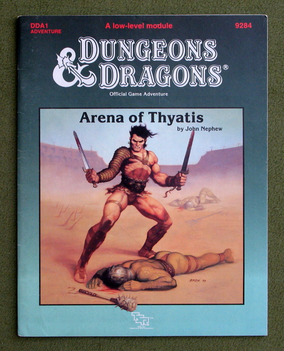 Image for Arena of Thyatis (Dungeons and Dragons Module DDA1)