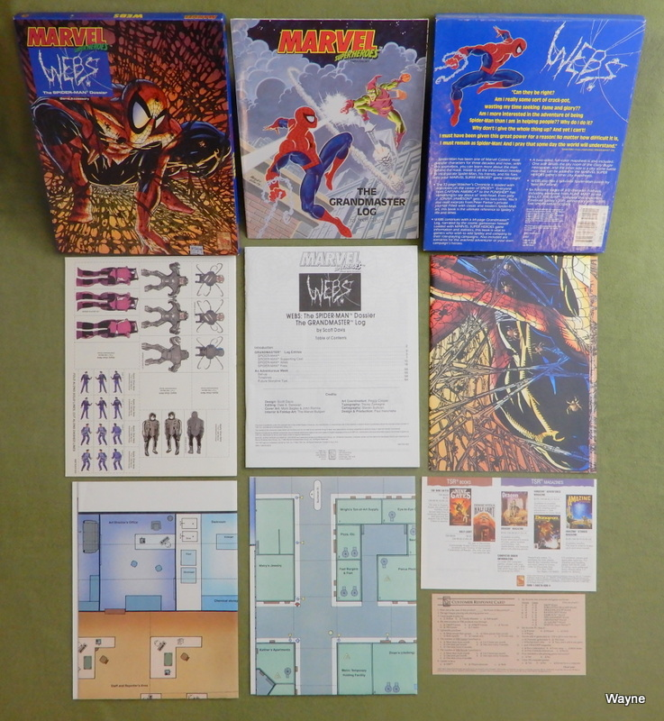 Image for Webs: The Spider-Man Dossier (Marvel Super Heroes)