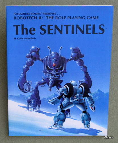 Image for Sentinels (Robotech II: The Role Playing Game)