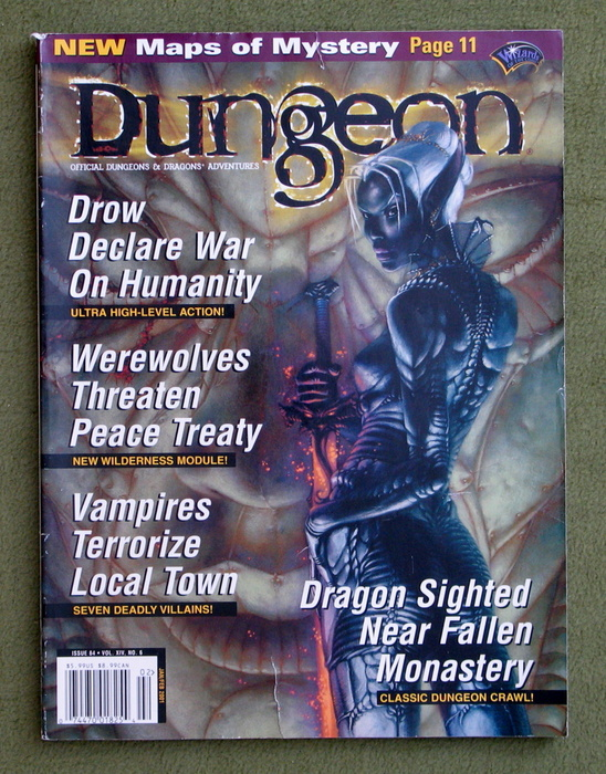 Image for Dungeon Magazine, Issue 84