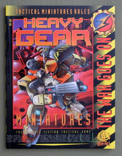 Tactical Miniatures Rules (Heavy Gear)