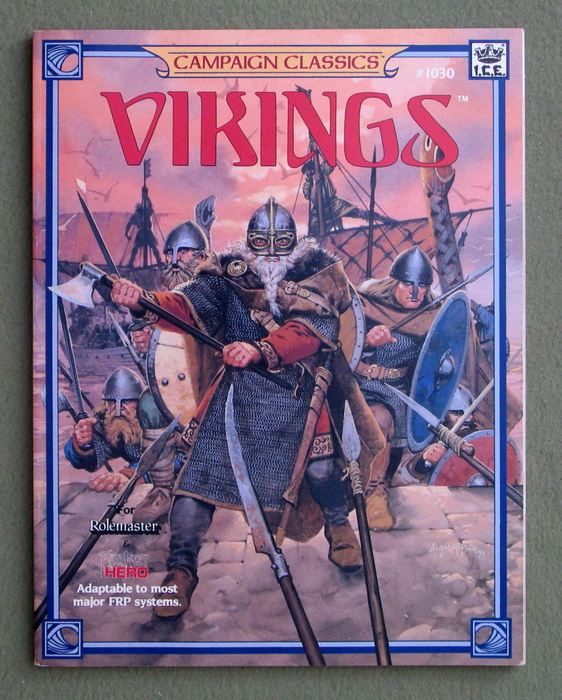 Image for Vikings (Rolemaster Campaign Classics)