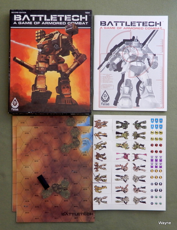 Image for Battletech: A Game of Armored Combat (2nd Edition)