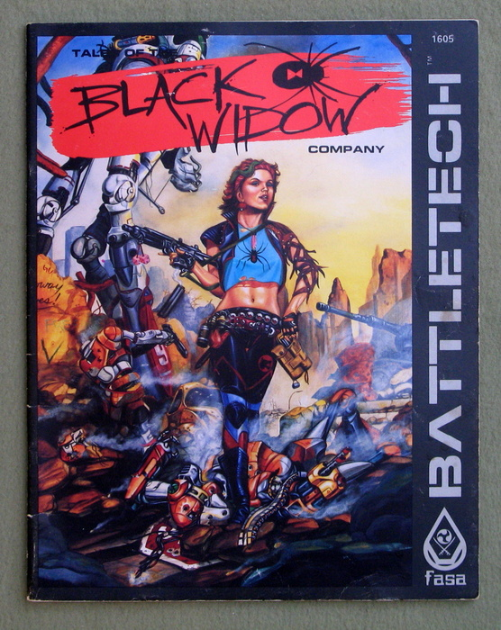 Image for Tales of the Black Widow Company (Battletech)