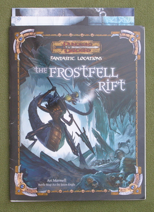 Image for Fantastic Locations: The Frostfell Rift (Dungeons & Dragons D20 Accessory)