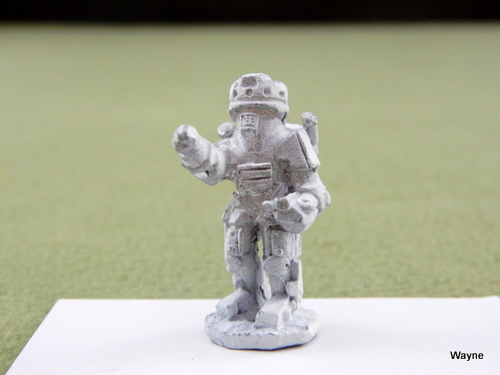 Image for POWERED ARMOR TROOP: Grenadier Gamma World miniature