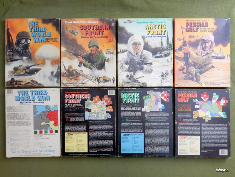 Image for Third World War sets 1-4 [EMPTY BOXES]: Battle For Germany; Southern Front; Arctic Front; Persian Gulf