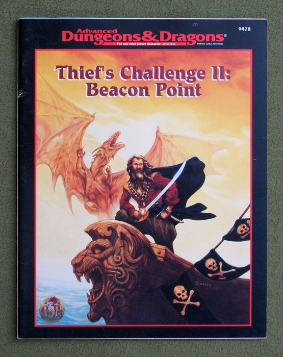 Image for Thief's Challenge II: Beacon Point (Advanced Dungeons & Dragons)