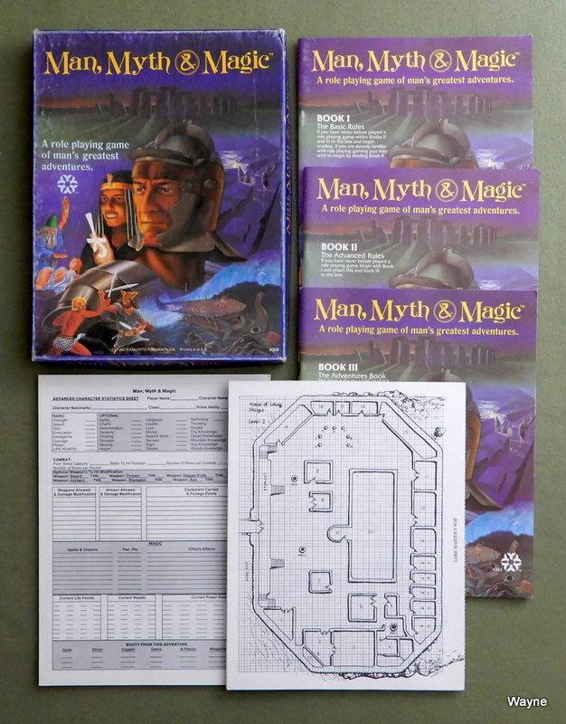 Image for Man, Myth, & Magic: A Role Playing Game of Man's Greatest Adventures
