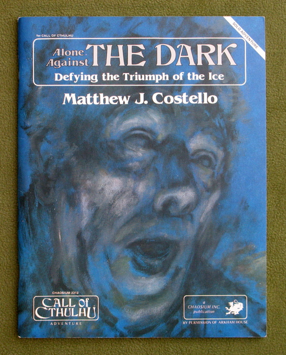 Image for Alone Against the Dark (Call of Cthulhu)