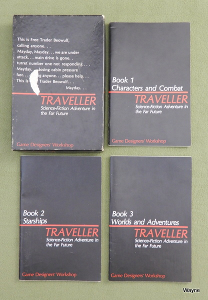 Image for Traveller Books 1-3: Core RPG Rules