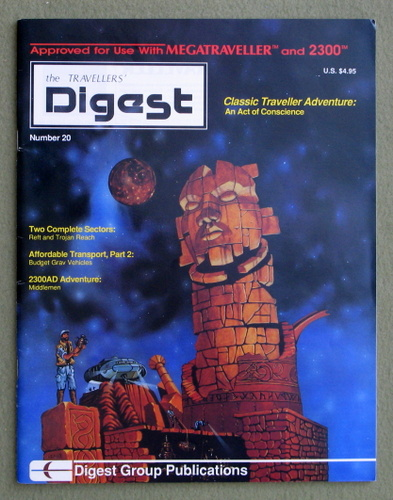 Image for Travellers' Digest, Issue 20 (Traveller RPG)