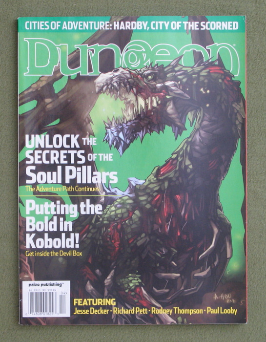 Image for Dungeon Magazine, Issue 109