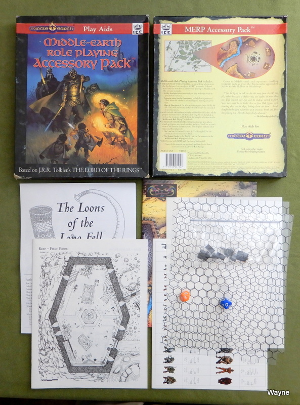 Image for Middle Earth Role Playing Accessory Pack (MERP, 2nd Edition) - PLAY SET