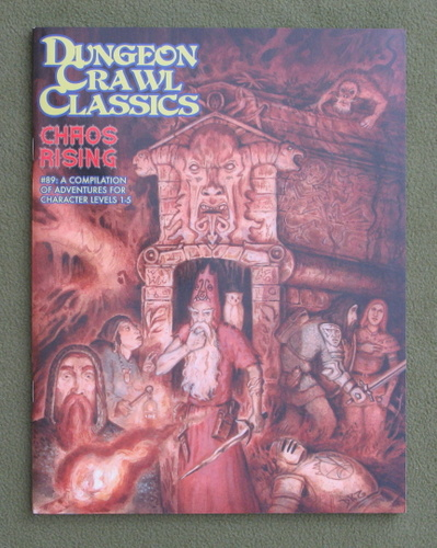 Image for Chaos Rising (Dungeon Crawl Classics #89) - Color Cover