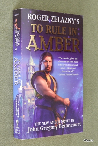 Image for Roger Zelazny's To Rule in Amber (New Amber Trilogy)