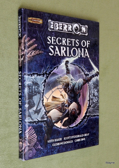 Image for Secrets of Sarlona (Dungeons & Dragons d20 3.5 Fantasy Roleplaying, Eberron Supplement)