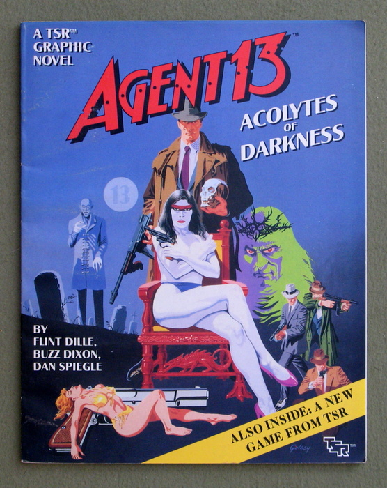 Image for Agent 13: Acolytes of Darkness (A TSR Graphic Novel)