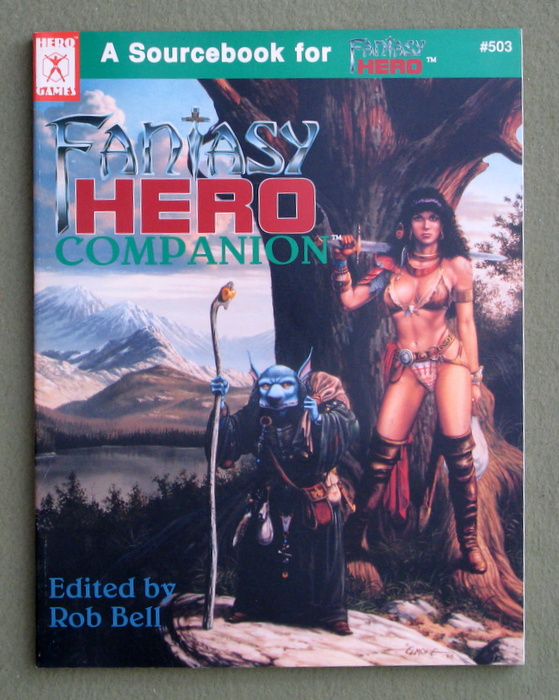 Image for Fantasy Hero Companion