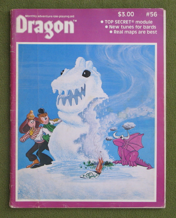 Image for Dragon Magazine, Issue 56 - READING COPY