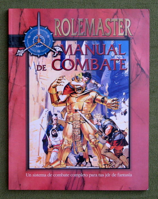 Image for Manual de Combate (Rolemaster)