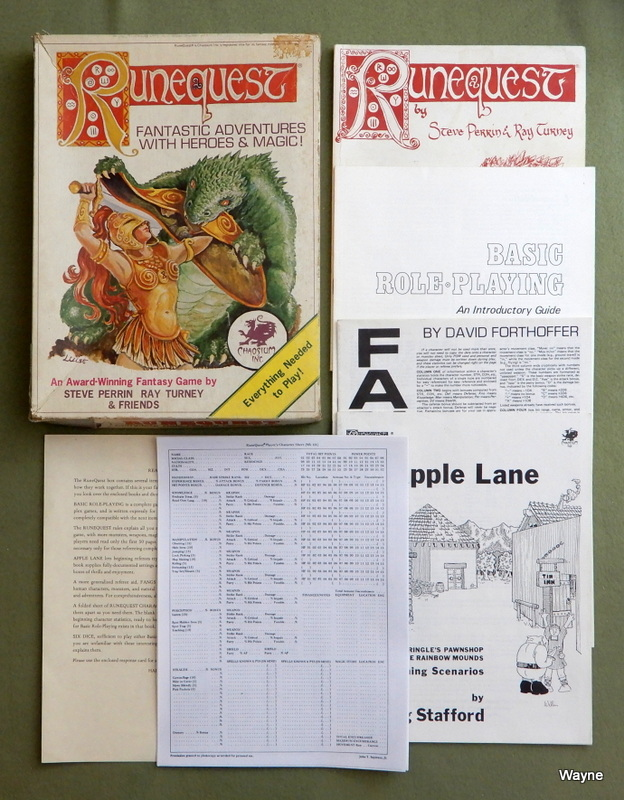 Image for Runequest, 2nd Edition - PLAY SET