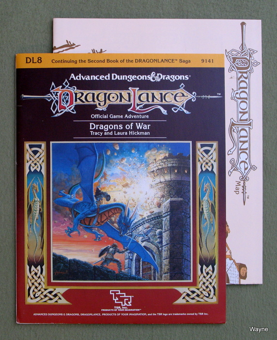 Image for Dragons of War (Advanced Dungeons & Dragons: Dragonlance module DL8)