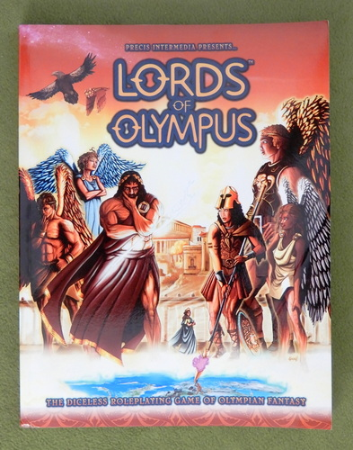 Image for Lords of Olympus: The Diceless Roleplaying Game of Olympian Fantasy