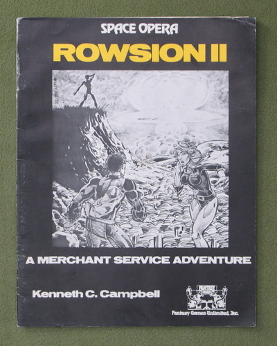 Image for Rowsion II - A Merchant Service Adventure (Space Opera RPG)